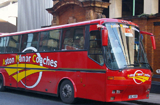 Cheap Coach Hire West Midlands